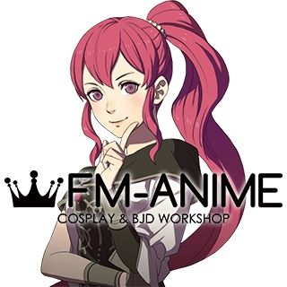 Fire Emblem: Three Houses Anna Red Cosplay Wig