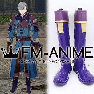 Fire Emblem: Three Houses Ashe Ubert Freckles After the Timeskip Cosplay Shoes Boots