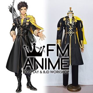 Fire Emblem: Three Houses Claude Von Riegan Military Uniform Cosplay Costume