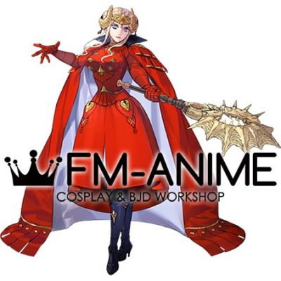 Fire Emblem: Three Houses Edelgard von Hresvelg After 5 Year Time Skip Cosplay Costume