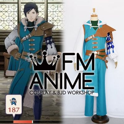Fire Emblem: Three Houses Felix Hugo Fraldarius After 5 Year Time Skip Cosplay Costume