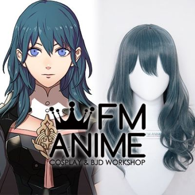 Fire Emblem: Three Houses Female Byleth Smoky Blue Cosplay Wig