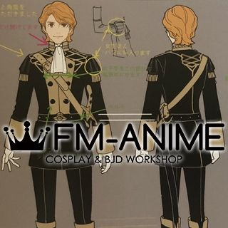 Fire Emblem: Three Houses Ferdinand Cosplay Costume
