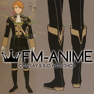Fire Emblem: Three Houses Ferdinand Cosplay Shoes Boots