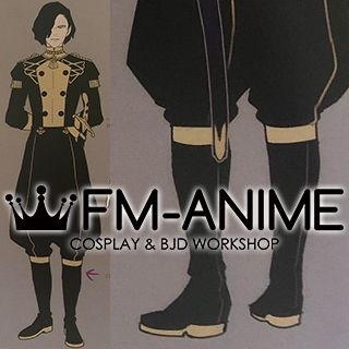 Fire Emblem: Three Houses Hubert Cosplay Shoes Boots