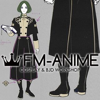 Fire Emblem: Three Houses Linhardt Cosplay Shoes Boots