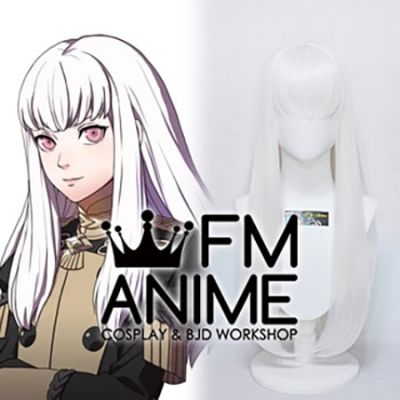 Fire Emblem: Three Houses Lysithea White Cosplay Wig