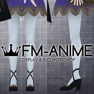 Fire Emblem: Three Houses Lysithea War Outfit Cosplay Shoes
