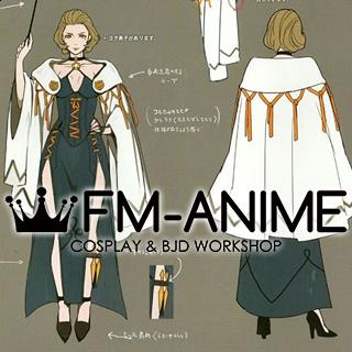 Fire Emblem: Three Houses Manuela Dress Cosplay Costume