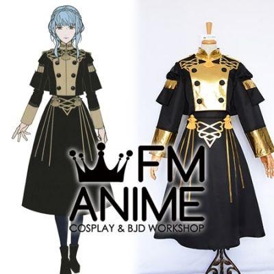 Fire Emblem: Three Houses Marianne von Edmund Military Uniform Cosplay Costume