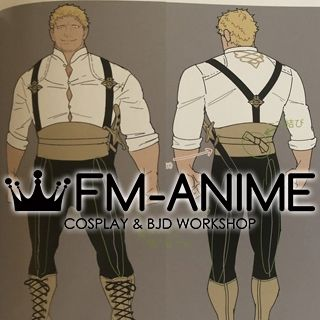 Fire Emblem: Three Houses Raphael Cosplay Costume