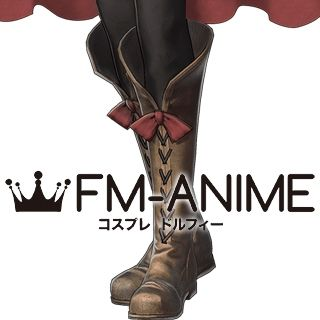 Fire Emblem Warriors Anna Cosplay Shoes Boots