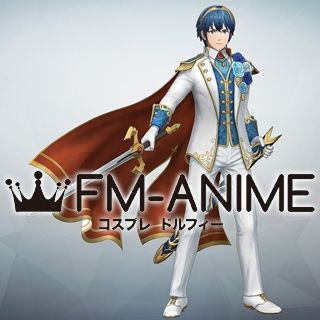 Fire Emblem Warriors Marth DLC Groom Cosplay Costume