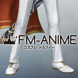 Fire Emblem Warriors Marth DLC Groom Cosplay Shoes