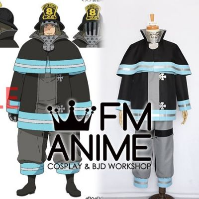 Fire Force Akitaru Obi Cosplay Costume