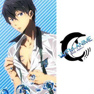 Free! - Iwatobi Swim Club Haruka Nanase Cosplay Tattoo Stickers
