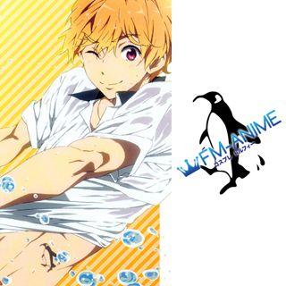 Free! - Iwatobi Swim Club Nagisa Hazuki Cosplay Tattoo Stickers
