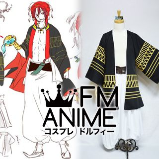 Free! - Iwatobi Swim Club Rin Matsuoka Arabian Version Cosplay Costume (ED, Ending Song SPLASH FREE)