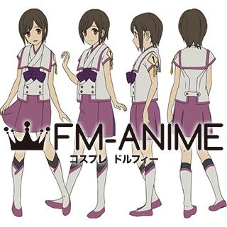 From the New World Saki Watanabe Uniform Cosplay Costume