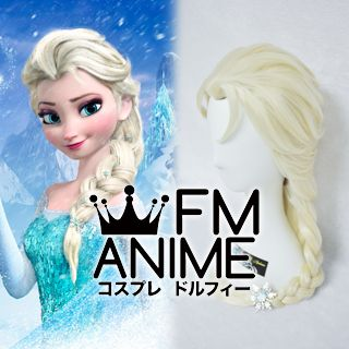 Frozen (Disney 2013 film) Elsa Cosplay Wig (2 Colors)