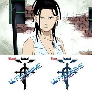 Fullmetal Alchemist Izumi Curtis Cosplay Tattoo Stickers