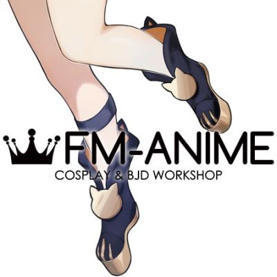 Genshin Impact Diona Cosplay Shoes Boots