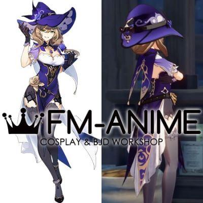 Genshin Impact Lisa Minci Cosplay Costume Accessories