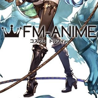 Granblue Fantasy Ferry Cosplay Shoes Boots