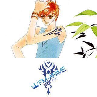 Harukanaru Toki no Naka de Tenma Morimura Cosplay Tattoo Stickers