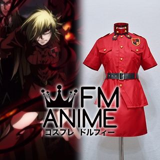 Hellsing Ultimate Seras Victoria Red True Vampire Cosplay Costume