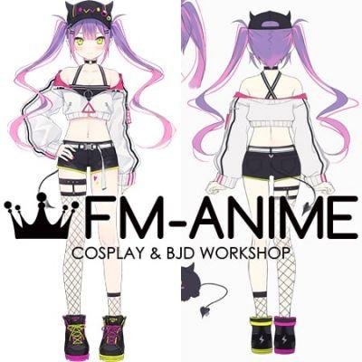 Virtual YouTuber Vtuber Hololive holoForce Tokoyami Towa Cosplay Costume