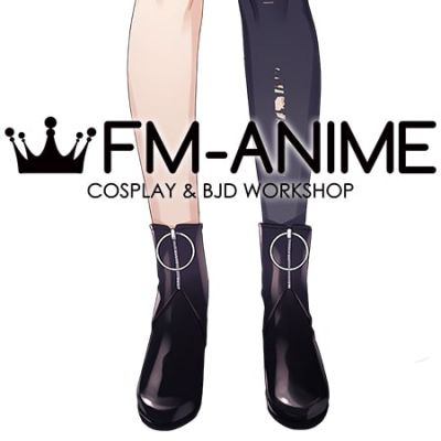 Virtual YouTuber Vtuber Hololive holoFive NePoLaBo Shishiro Botan Cosplay Shoes Boots