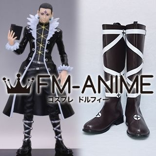 Hunter × Hunter Chrollo Lucilfer Cosplay Shoes Boots