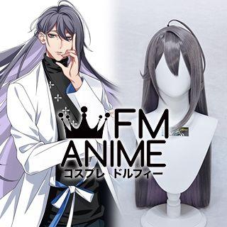 Hypnosis Mic Jakurai Jinguji Gray Purple Cosplay Wig