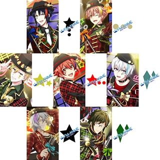 Idolish7 Iori Mitsuki Nagi Riku Sogo Tamaki Yamato Xmas Rock Cosplay Tattoo Stickers
