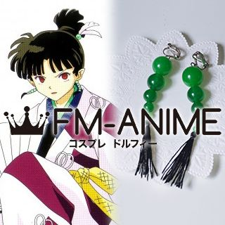 Inuyasha Kagura Earrings Cosplay Accessories