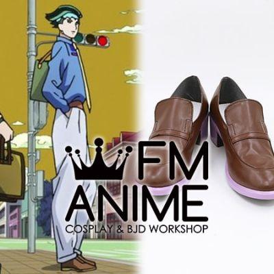 JoJo's Bizarre Adventure: Diamond is Unbreakable Episode 17 Rohan Kishibe Cosplay Shoes