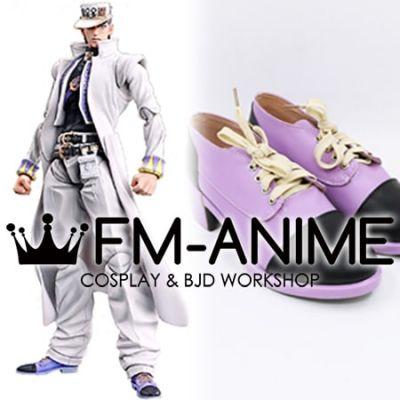 JoJo's Bizarre Adventure: Diamond Is Unbreakable Kujo Jotaro Cosplay Shoes