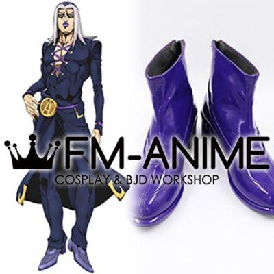 JoJo's Bizarre Adventure: Golden Wind Leone Abbacchio Cosplay Shoes