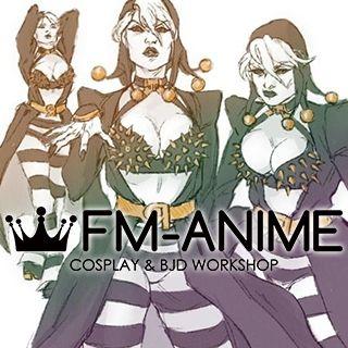 Jojo's Bizarre Adventures Risotto Nero (Female Version) Cosplay Costume