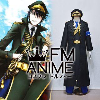 K Project (anime) Reisi Munakata Military Uniform Cosplay Costume