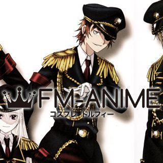 K Project (anime) Yata Misaki Military Uniform Cosplay Costume