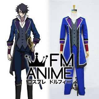 K Project (anime) Saruhiko Fushimi Cosplay Costume