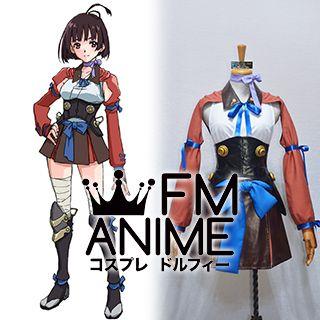 Kabaneri of the Iron Fortress Mumei Cosplay Costume