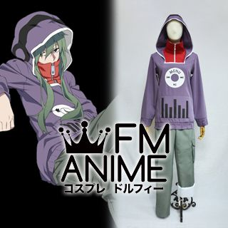 Kagerou Project Tsubomi Kido Cosplay Costume (Anime Version)