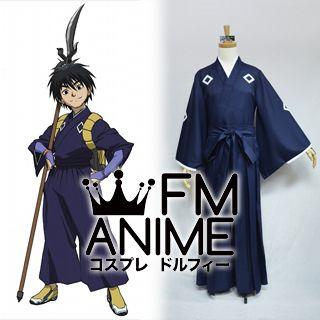 Kekkaishi Yoshimori Sumimura Kimono Cosplay Costume