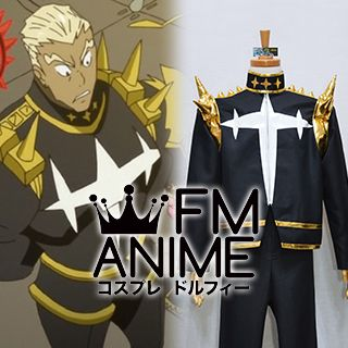 Kill la Kill Ira Gamagori Black Gold Version Cosplay Costume