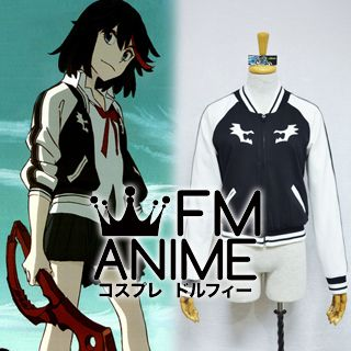 [Limited Edition] Kill la Kill Ryuko Matoi Black & White Coat Jacket Cosplay Costume