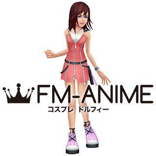 Kingdom Hearts 2 Kairi Pink Cosplay Costume