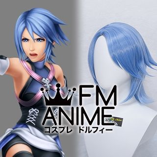 Kingdom Hearts: Birth by Sleep Aqua Cosplay Wig